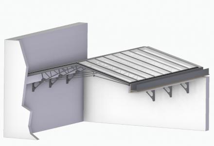 Modélisation 3D Verrière