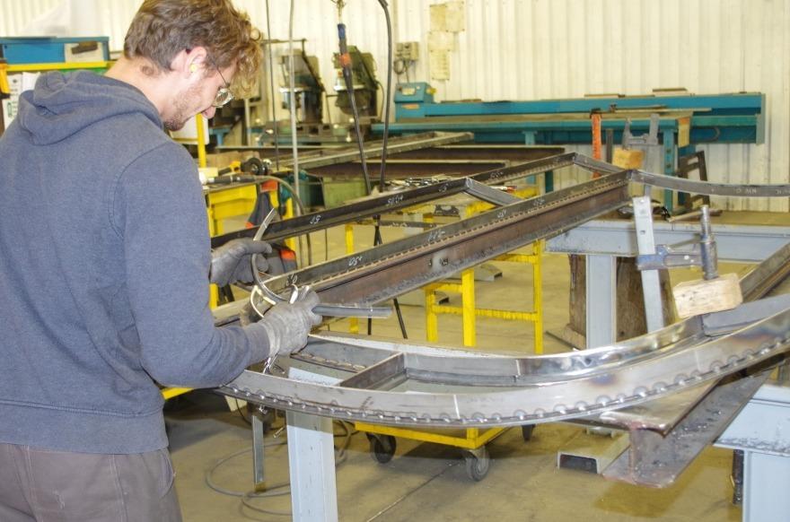 Fabrication fenêtre en acier