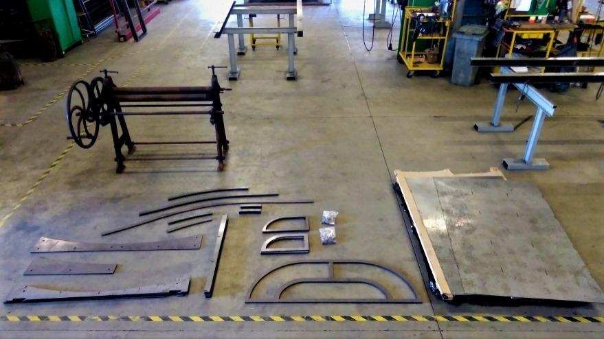 Découpe laser métallerie serrurerie