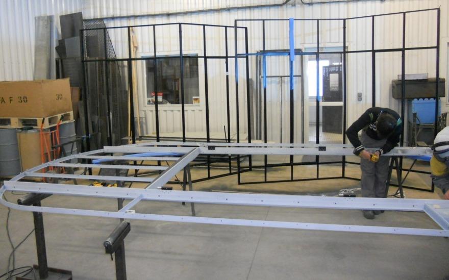 fabrication verrière en acier